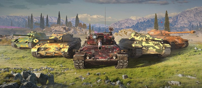 Review of World of Tanks Blitz for Nintendo Switch. Armada in your pocket
