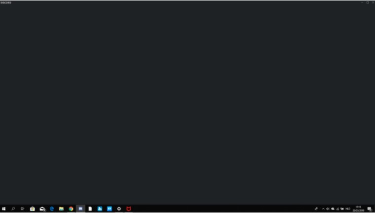 What is Discord Black Screen Problem?
