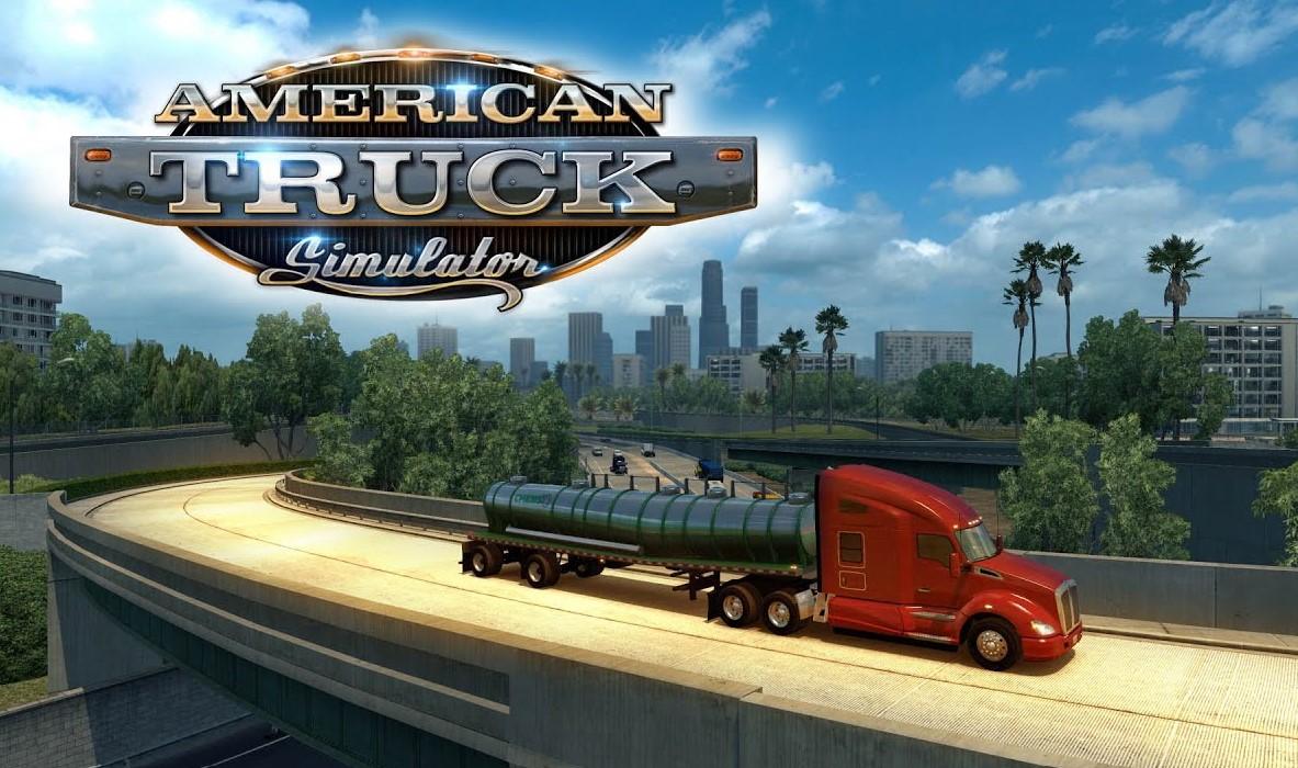 American Truck Simulator-PC Game Setup New 2021 Version Full Free Download