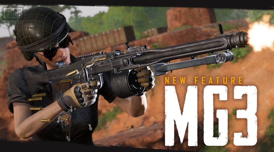 New Weapon: MG3